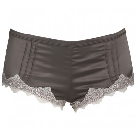 Opulent Lace Short in Caramel