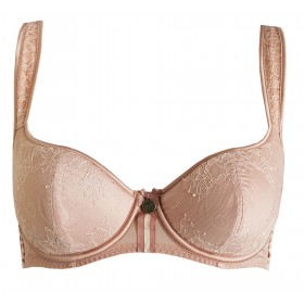 Tara Balconette Bra in Powder Puff